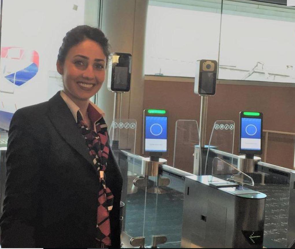 British Airways, per imbarco basta scansione volto